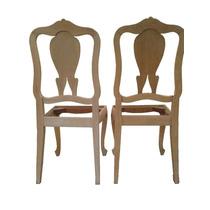 Par De Cadeiras Em Pau Marfim Chipandelle Raridade