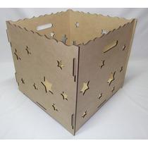 Caixa De Presente Provençal - Mdf 6mm - Decoração De Festas