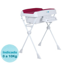 Banheira Para Bebê Millenia - Framboesa Burigotto