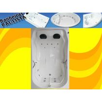 Banheira Com Hidro + Aquecedor Digital Completa Prontinha