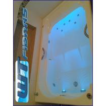 Banheira Dupla+hidromassagem+aquecedor Digital+cromoterapia!