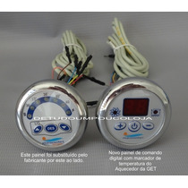 Painel Acionador C/marcador Temperatura Do Aquecedor Da Get
