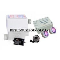 Aquecedor Banheira C/ Cromo 2 Spot Sanspray 8000w/220v
