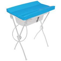 Banheira Com Trocador Floripa Azul - Tutti Baby