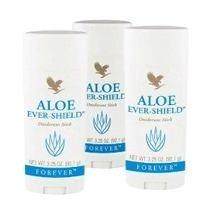 Kit C/3 Aloe Ever Shield Desodorante Forever Living