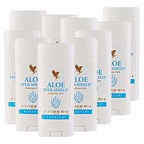 Kit C/ 10 Aloe Ever Shield Desodorant Forever Living