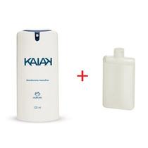 Natura Desodorante Spray Kaiak Masculino + Grátis Refil