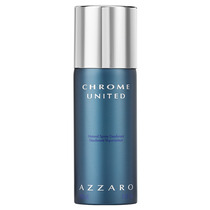 Azzaro Chrome United Natural Spray Deodorant Desod 150ml Blz