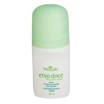 5 Desodorantes Roll-on - Erva Doce S/ Perfume -hinode 80 Ml