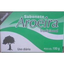 Sabonete De Aroeira Em Barras- Kit Com 12 Unid + Brinde !