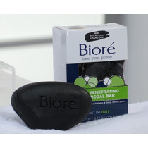 Biore Charcoal Bar Pore Penetrating Sabonete 100% Original