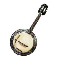 Banjo De Couro Marquês Elétrico Preto
