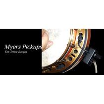 Captador Banjo Ativo - Myers The Grip - Top De Linha - Usa