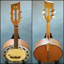 Banjo Luthier Cx 9 Radica De Passarinho