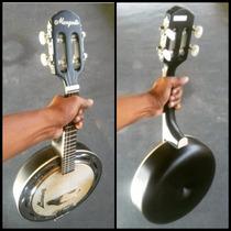 Banjo Marquês Preto Caixa Em Fibra - Bf 02