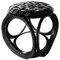 Banco / Cadeira De Pneu 180 Kg - Cadeira Dobrável Plástica