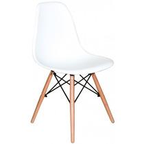 Jogo 4 Cadeiras Charles Eames Eiffel Base Madeira Fretgrátis