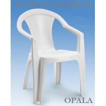 Cadeira Poltrona De Plástico Opala