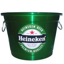 Balde Para Gelo Em Aluminio 8 Litros Cerveja Heineken