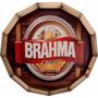 Tampo De Barril Decorativo Cerveja Brahma Chopp