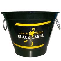 Balde Para Gelo Em Aluminio Cerveja Whisky Black Label