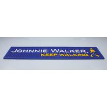 Bar Mat Johnnie Walker Azul / Tapete De Copo /barman /runner