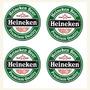 4 Descanso Copos Emborrachados Cerveja Heineken Frete Grátis