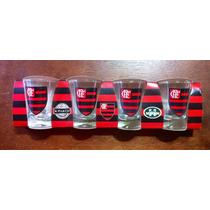 Conjunto Copo De Dose Flamengo