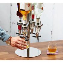 Dosador Giratório P/ Bebidas (cap. 4 Garrafas) - Lancamento