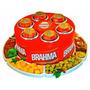 Cooler 3g-latas Brahma + Petisqueira Rotativa- Frete Grátis