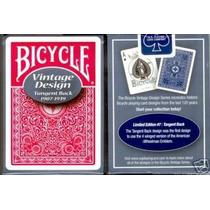 Baralhos Bicycle Tangent Back 1907-1939 - Pôquer Poker 808