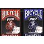 Baralho Bicycle Pro Peek 808 - Pôquer Poker Texas Hold