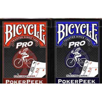 Baralho Bicycle Pro Peek 808 - Pôquer Poker Texas Hold