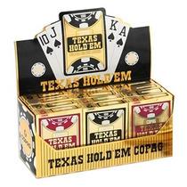 Caixa 12 Baralhos Copag Poker Texas Hold
