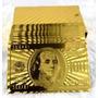Frete9,90 Cartas De Baralho Poker Ouro 24k Karatcertificado
