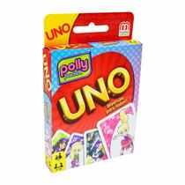 Jogo De Cartas Uno Polly Pocket Edição Limitada Mattel