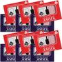 Caixa C/ 12 Jogos Baralho 100% Plástico Copag 108 Cartas Nfe
