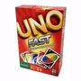 Jogo De Carta Uno Fast - Matel - Original / Lacrado