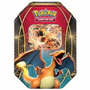 Novo Lacrado Pokémon Card Game Lata Power Trio Charizard Ex