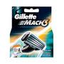 Carga Gillette Mach 3 Com 4 Cartuchos
