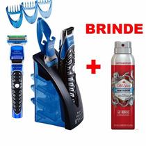 Barbeador Aparador De Pelos Eletrico Gillette 3x1 Provadagua