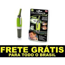 Depilador Eletrico Cabelo Nariz Orelha Barba Micro Touch Max