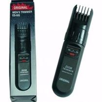 Maquina Barbeador Aparador Zoom Trimmer Original Es-505