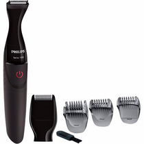 Barbeador Philips Mg1100/16 Multigroom 2 Em 1 À Prova D
