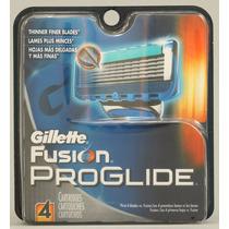 Gillette Fusion Proglide C/ 04 Cartuchos
