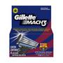 Carga Gillette Mach 3 Barcelona Com 4 Cartuchos