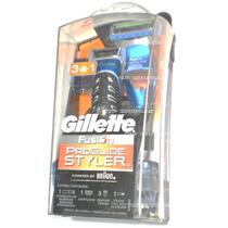 Aparelho De Barbear 3 Em 1 Gillette Fusion Proglide Styler