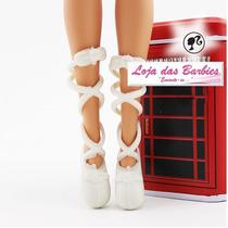 Sapatilha De Ballet P/ Boneca Barbie * Sapatinho Bailarina