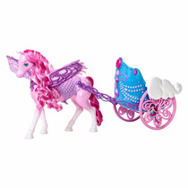 Carruagem Do Pegasus Barbie Butterfly E A Princesa Fairy...