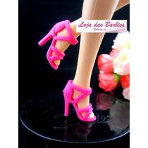 Sapato Luxo Para Barbie * Sapatinho Mattel * Fashion